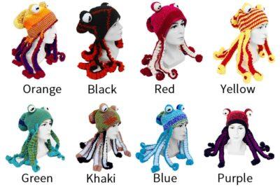 Handmade Octopus hat