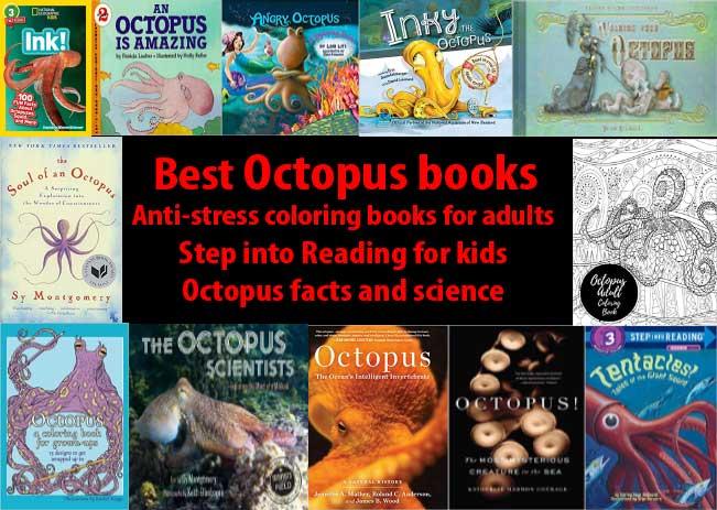 Octopus books available on Amazon